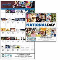 National Day Stapled Calendar