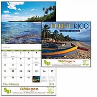 Puerto Rico Stapled Calendar