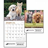 Puppies Kittens Mini Calendar