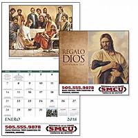 Regalo De Dios Stapled Calendar