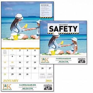 Safety Stapled Calendar