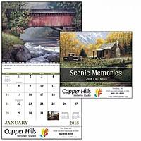 Scenic Memories Spiral Calendar