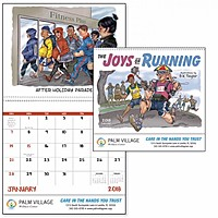 The Joys Of Running Spiral Calendar