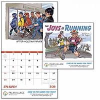 The Joys Of Running Stapled Calendar