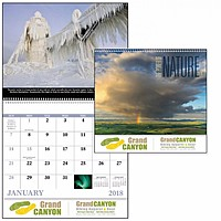The Power Of Nature Spiral Calendar