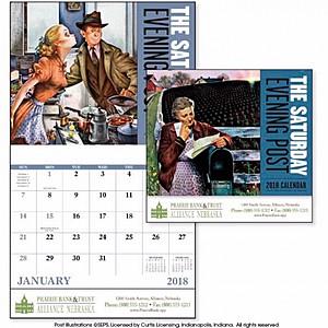 The Saturday Evening Post Stapled Calendar
