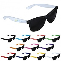 Two Tone Black Frame Sunglasses