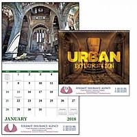 Urban Exploration Spiral Calendar