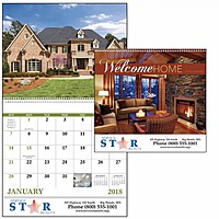 Welcome Home Spiral Calendar