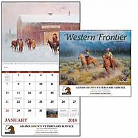 Western Frontier Spiral Calendar