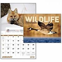 Wildlife Portraits Window Calendar