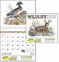 Wildlife Trek Spiral Calendar