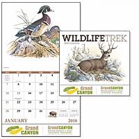 Wildlife Trek Stapled Calendar