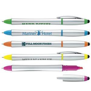 Stylus Highlighter Pen Combo