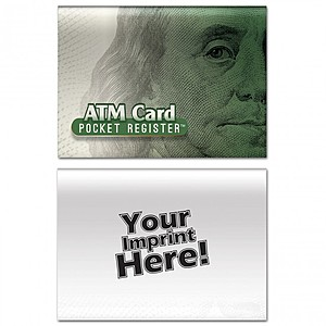 Atm Pocket Register   Money