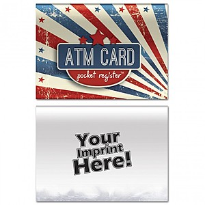 Atm Pocket Register   Patriotic