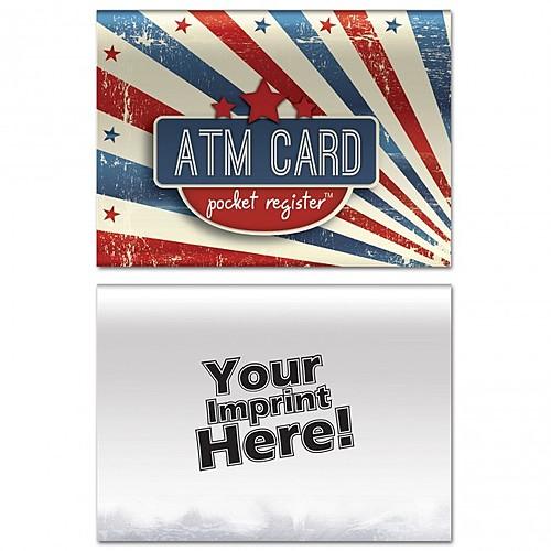 Atm Pocket Register   Patriotic