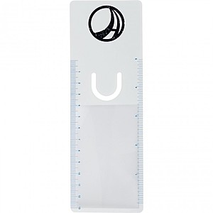 Bookmarker Magnifier With Clip And Ruler