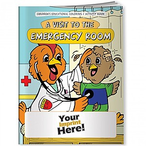 Coloring Book   A Visit To The Emergency Room