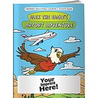 Coloring Book   Alex The Eagle's Airport Adventure