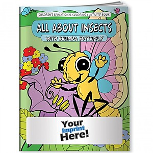 Coloring Book   All About Insects With Belinda Butterfly