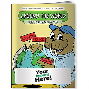Coloring Book   Around The World With Walter Walrus