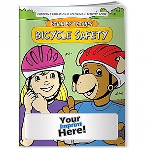 Coloring Book   Barkley Teaches Bicycle Safety