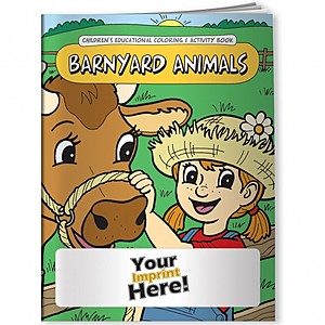 Coloring Book   Barnyard Animals