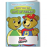 Coloring Book   Barry Bear Has Lots Of Friends