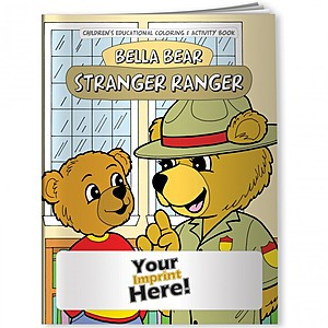 Coloring Book   Bella Bear: Stranger Ranger