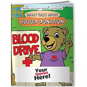 Coloring Book   Blood Donation