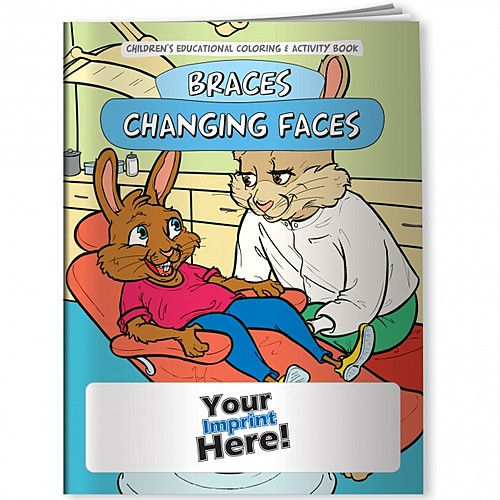 Coloring Book Braces Changing Faces