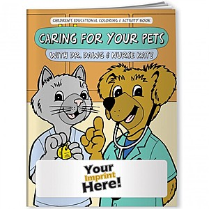 Coloring Book   Caring For Your Pets With Dr. Dawg And Nurse Katz