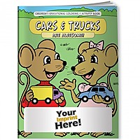 Coloring Book   Cars And Trucks Are Awesome!