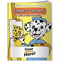 Coloring Book   Connect The Dots With Dottie Dalmatian