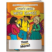Coloring Book   Don't Mess With Gangs