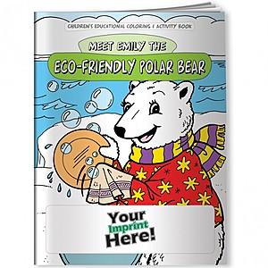 Coloring Book   Eco Friendly Polar Bear