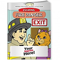 Coloring Book   Escaping Fire Danger