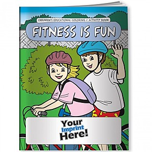 Coloring Book   Fitness Is Fun