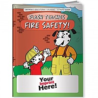 Coloring Book   Flash Teaches Fire Safety!