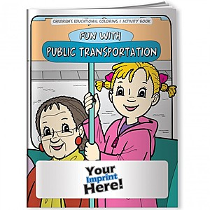 Coloring Book   Fun With Public Transportation