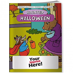 Coloring Book   Halloween Haunted Holiday