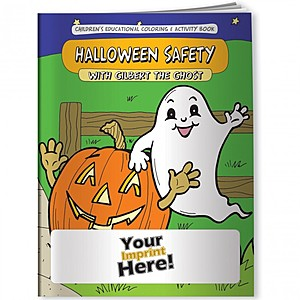 Coloring Book   Halloween Safety With Gilbert The Ghost