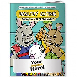 Coloring Book   Healthy Eating Starts At The Supermarket
