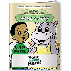 Coloring Book   Home Safety With Harriet The Hippo