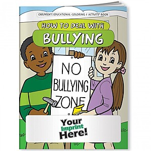 Coloring Book   How To Deal With Bullying
