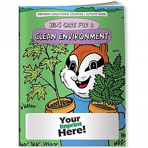 Coloring Book   Kids Care For A Clean Environment