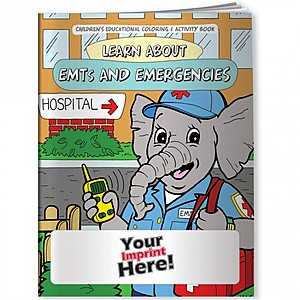 Coloring Book   Learn About Em Ts And Emergencies