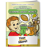 Coloring Book   Learning About Money: My Saving And Spending Plan