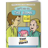 Coloring Book   Let's Go To The Bank